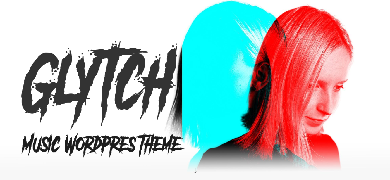 Glytch-premium-Music-WordPress-theme-Yudlee-themes