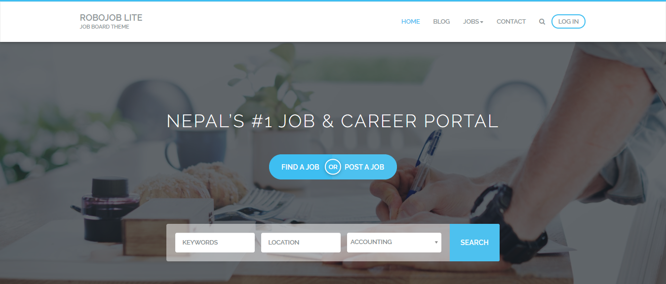 Free WordPress themes for Job Board and Job sites
