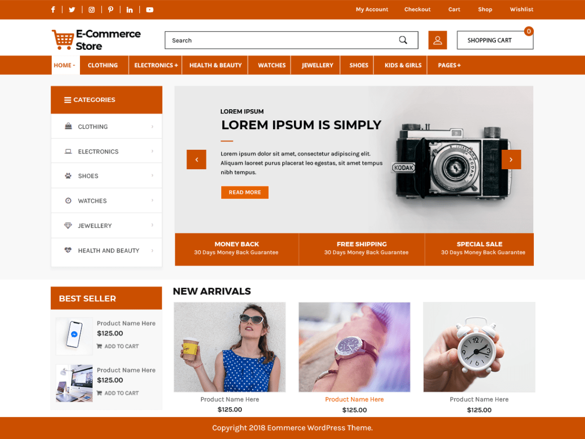 Advance-Ecommerce-Store-free-responsive-eCommerce-WordPress-theme-WPreviewteam