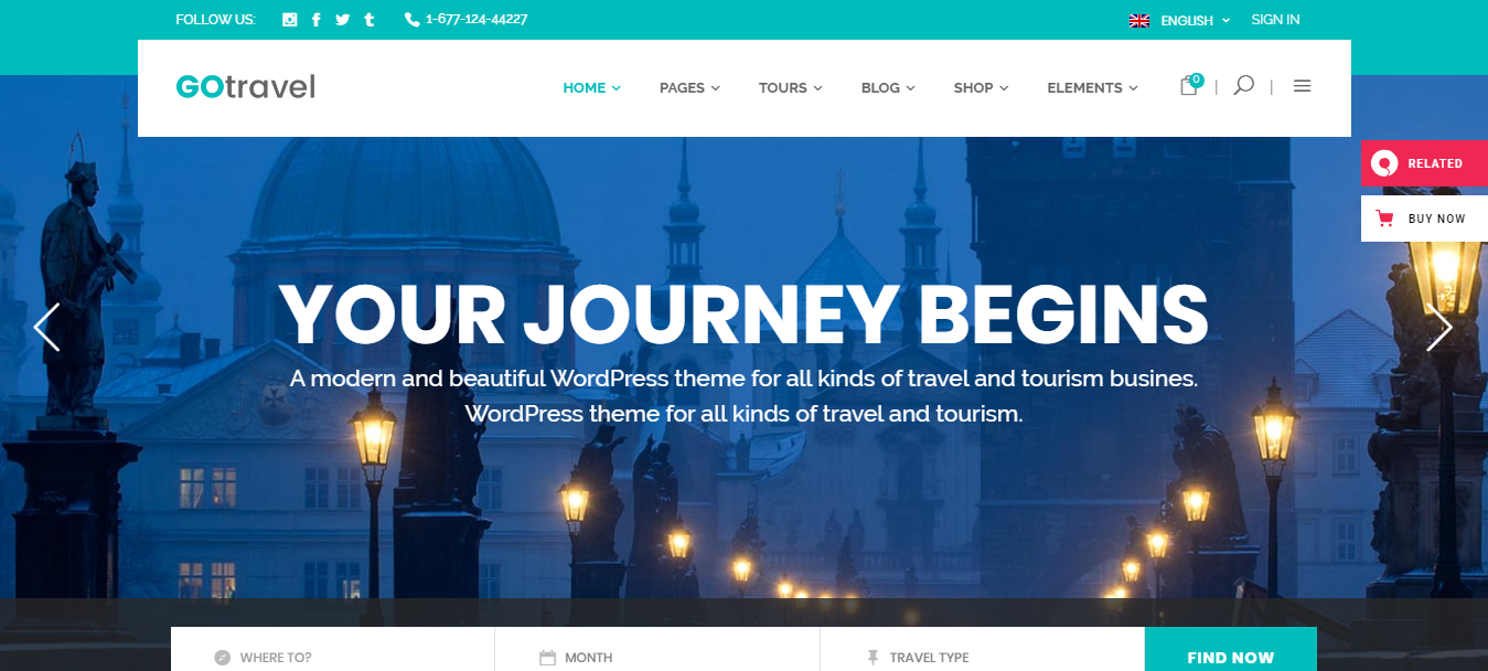 GoTravel-Travel-Agency-Tourism-Theme-Premium-Yudleethemes