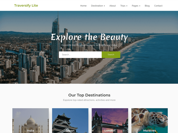 Traversify-travel-WordPress-website-theme-Yudleethemes
